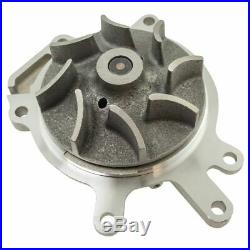 Water Pump with Flywheel Lock, Socket, Fan Wrench Tool for Chevy 6.6L Duramax