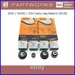 Zahnriemensatz Für Porsche 924s 944 951 Turbo -'87 Zahnriemen Laufrollen